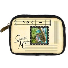 Sweet Music Camera Case By Catvinnat   Digital Camera Leather Case   Wwgk08g0a4ab   Www Artscow Com Front