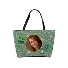 Proud To Be Irish Classic Shoulder Handbag By Lil    Classic Shoulder Handbag   88lmi52bu0ks   Www Artscow Com Back