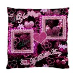 You Take my Breath Away Hearts n Flowers Cushion Case - Standard Cushion Case (One Side)