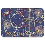 Red, White & Blue/4th July-Large Doormat