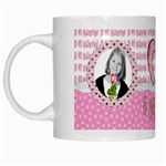 be my valentine mug - White Mug