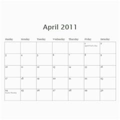 2011 Calendar By Marissa Eddy   Wall Calendar 11  X 8 5  (12 Months)   F0cvsptwwg0p   Www Artscow Com Apr 2011