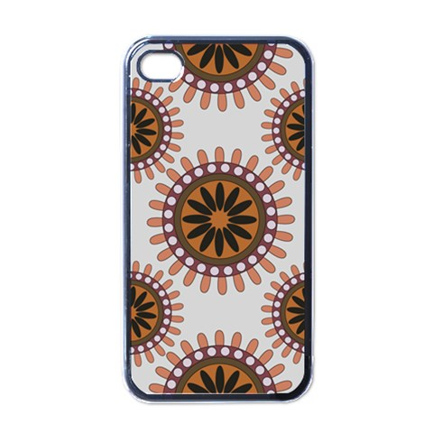 Retro Phone Cover By Charlotte Young   Apple Iphone 4 Case (black)   Svn1bysemgz8   Www Artscow Com Front