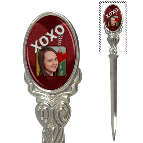 Xoxo Letter Opener By Lil    Letter Opener   Vx1yjbj7a5q8   Www Artscow Com Front