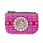 pink & Lime coin purse - Mini Coin Purse