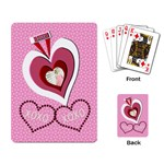 love xoxo cards - Playing Cards Single Design