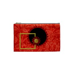 The Orient Small Cosmetic Bag 1 By Lisa Minor   Cosmetic Bag (small)   Cqgabbmbtw0o   Www Artscow Com Front