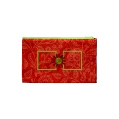 The Orient Small Cosmetic Bag 1 By Lisa Minor   Cosmetic Bag (small)   Cqgabbmbtw0o   Www Artscow Com Back