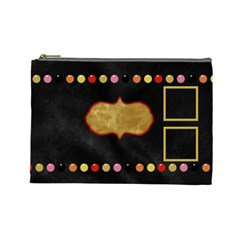 The Orient Large Cosmetic Bag 1 By Lisa Minor   Cosmetic Bag (large)   T8vnxalhipwn   Www Artscow Com Front