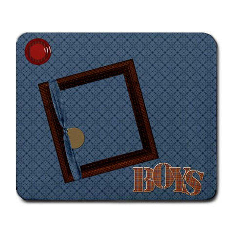 The Boys Of Fall Mousepad 1 By Lisa Minor   Large Mousepad   0r2utwha0ajd   Www Artscow Com Front