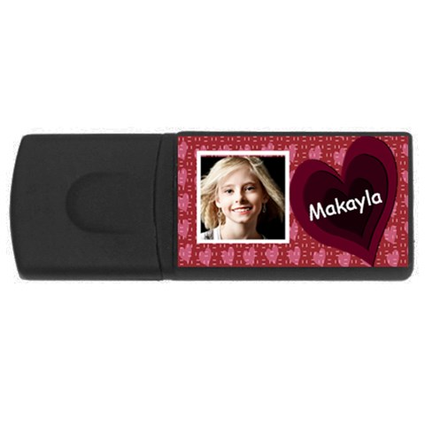 Valentine Usb By Danielle Christiansen   Usb Flash Drive Rectangular (4 Gb)   Oyullarhf84p   Www Artscow Com Front