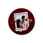 You & Me Round Coaster - Rubber Coaster (Round)