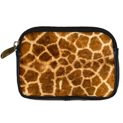 Giraffe Skin Digital Camera Leather Case by photogiftanimaldesigns