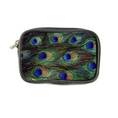 Peacock Feathers Coin Purse by photogiftanimaldesigns