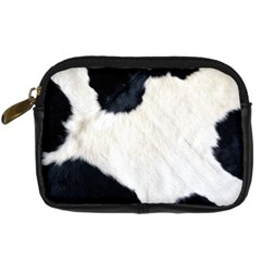 Cow Skin Digital Camera Leather Case by photogiftanimaldesigns