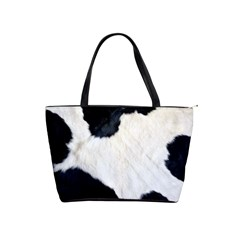 Cow Skin Classic Shoulder Handbag by photogiftanimaldesigns
