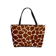 Giraffe Skin 2 Classic Shoulder Handbag by photogiftanimaldesigns