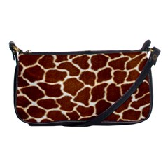 Giraffe Skin 2 Shoulder Clutch Bag by photogiftanimaldesigns