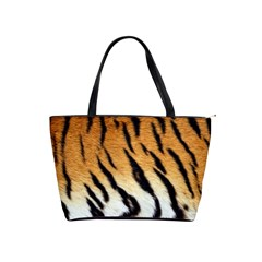 Tiger Skin Classic Shoulder Handbag by photogiftanimaldesigns
