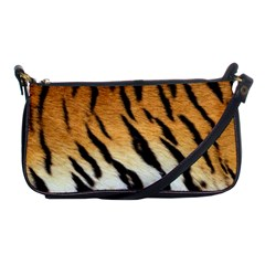 Tiger Skin Shoulder Clutch Bag by photogiftanimaldesigns