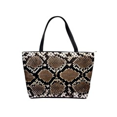Snake Skin Classic Shoulder Handbag by photogiftanimaldesigns