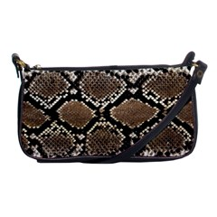 Snake Skin Shoulder Clutch Bag by photogiftanimaldesigns