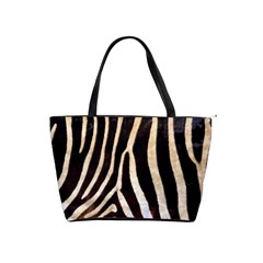Zebra Skin Classic Shoulder Handbag by photogiftanimaldesigns