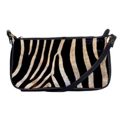 Zebra Skin Shoulder Clutch Bag by photogiftanimaldesigns