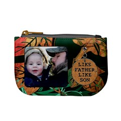 Like Father, Like Son Mini Coin Purse By Lil    Mini Coin Purse   Dgwswqypiqr6   Www Artscow Com Front