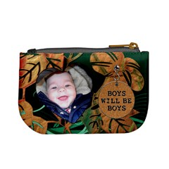 Like Father, Like Son Mini Coin Purse By Lil    Mini Coin Purse   Dgwswqypiqr6   Www Artscow Com Back