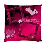 Pink Hearts n Memories Cushion Case - Cushion Case (One Side)