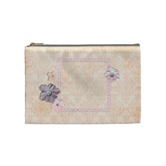 Angel Eyes Cosmetic Bag (m) By Mikki   Cosmetic Bag (medium)   Mg307rihvrvx   Www Artscow Com Front