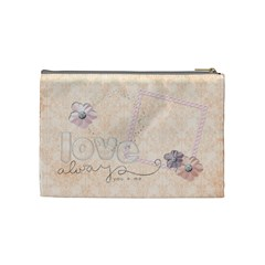 Angel Eyes Cosmetic Bag (m) By Mikki   Cosmetic Bag (medium)   Mg307rihvrvx   Www Artscow Com Back