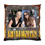 Friends Framed Sunset Cushion Cover (1 Sided) - Cushion Case (One Side)