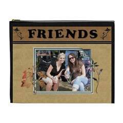 Friends Designer Xl Cosmetic Bag By Lil    Cosmetic Bag (xl)   2vkykfc1fqlq   Www Artscow Com Front