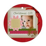 christmas baby - Ornament (Round)