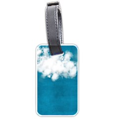 Magic Clouds Luggage Tag  By Cherish Collages   Luggage Tag (two Sides)   Ixfunqfbytxu   Www Artscow Com Back