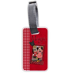 Mrs  Mouse Luggage Tag  By Barbara Ryan Front