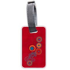 Mrs  Mouse Luggage Tag  By Barbara Ryan Back