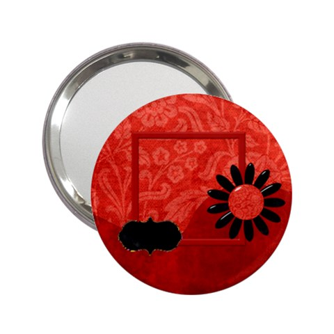 The Orient Hand Mirror 1 By Lisa Minor   2 25  Handbag Mirror   Uonjau2srwpg   Www Artscow Com Front