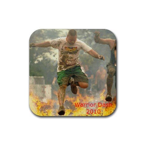 Fire By Sarah   Rubber Coaster (square)   Ivzzsv4qfxa5   Www Artscow Com Front