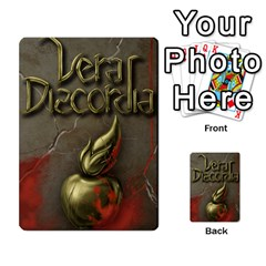 Vera Discordia Akerith By John Sein   Multi Purpose Cards (rectangle)   28vrbu42b78h   Www Artscow Com Back 1