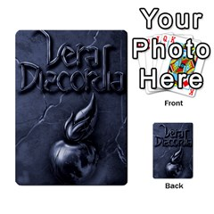 Vera Discordia Akerith By John Sein   Multi Purpose Cards (rectangle)   28vrbu42b78h   Www Artscow Com Back 54
