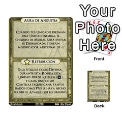 Vera Discordia Akerith By John Sein   Multi Purpose Cards (rectangle)   28vrbu42b78h   Www Artscow Com Back 18