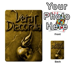 Vera Discordia Akerith By John Sein   Multi Purpose Cards (rectangle)   28vrbu42b78h   Www Artscow Com Back 21
