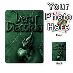Vera Discordia Akerith By John Sein   Multi Purpose Cards (rectangle)   28vrbu42b78h   Www Artscow Com Back 40