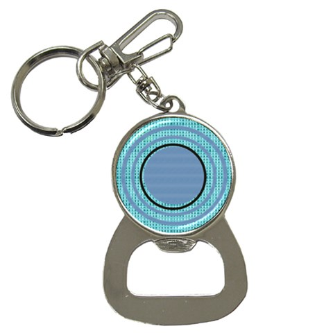 Circles Bottle Opener Key Chain By Daniela   Bottle Opener Key Chain   94p27sz07kw6   Www Artscow Com Front