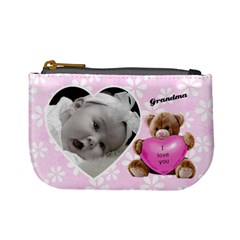 Valentine Love You Coin Purse By Laurrie   Mini Coin Purse   8og1nvh0x1py   Www Artscow Com Front