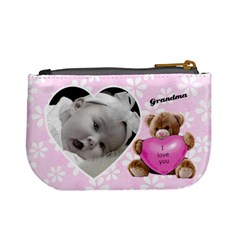 Valentine Love You Coin Purse By Laurrie   Mini Coin Purse   8og1nvh0x1py   Www Artscow Com Back