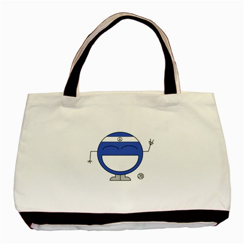 Peace Bag By Giggles Corp   Basic Tote Bag   Sa9ky4vqj7k5   Www Artscow Com Front